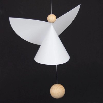 Flensted Mobiles Guardian Angel 35x12cm - handmade Deens design