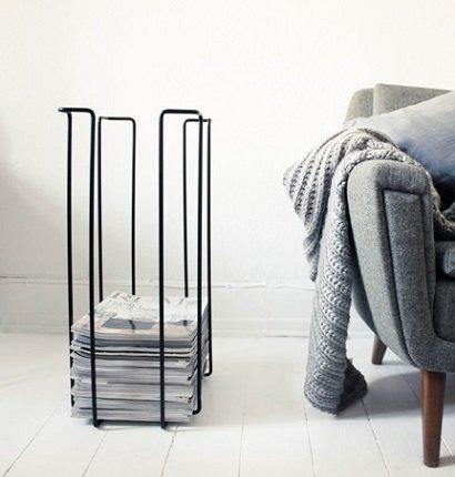 Nordic design Tijdschriftenrek