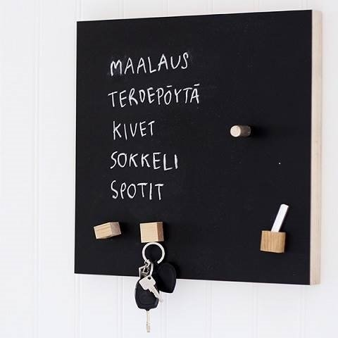 Magneetborden Fins design