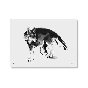 Teemu Järvi  Poster Wolf B70xH50cm