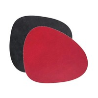 Lind DNA  Placemat Curve double Nupo Rood-Zwart