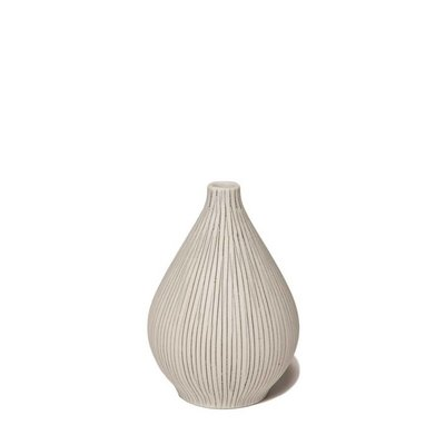 Lindform Vaasje Kobe Grijs H9,5cm – handmade & duurzaam