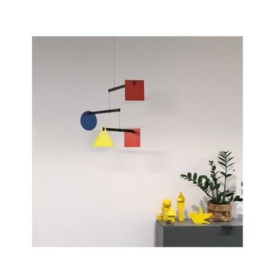 Flensted Mobiles Bauhaus Mobile - Handmade - Deens design