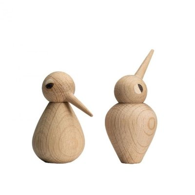 Architectmade Bird small naturel H7,5cm - handmade Deens design