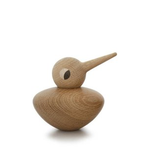 Architectmade Bird Chubby naturel H10,5cm