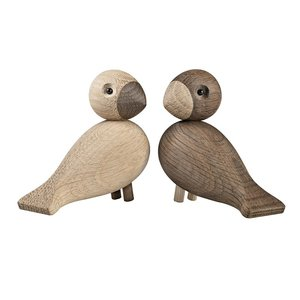 Kay Bojesen Love Birds - set houten vogels