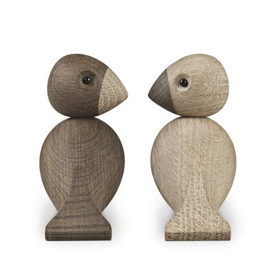 Kay Bojesen Love Birds - set houten vogels -Danish design classics