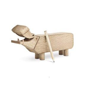 Kay Bojesen HIPPO Nijlpaard oak