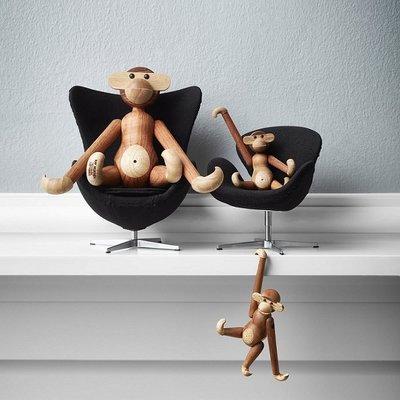 Kay Bojesen Monkey small H19cm - Teakhout & Limba - Deens design classic