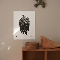 Teemu Järvi  Poster Pine Cone 30x40cm