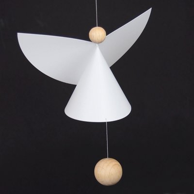 Flensted Mobiles Guardian Angel 5- 65x45cm - handmade Deens design
