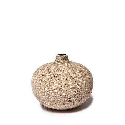 Lindform Vaasje Bari M – Sand H7,5cm - handmade