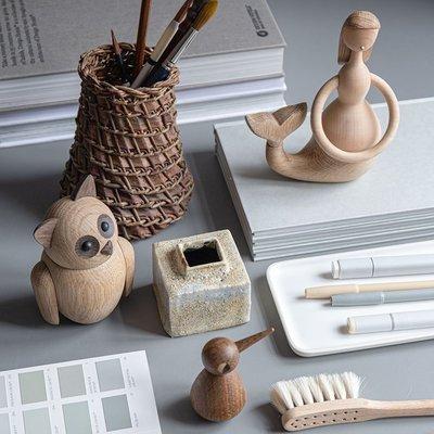 Architectmade Bubo small H12,5cm - uniek Deens design