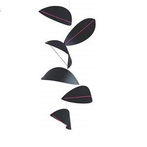 Flensted Mobiles Kites zwart  -90x35cm