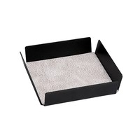Lind DNA  Tray Square Mini Wit-grijs/antraciet 22x22cm