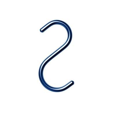 NOMESS Copenhagen S-Hook set Blauw H10,5cm - 5pcs
