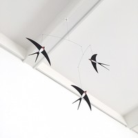 Flensted Mobiles Flying Swallows -  3 zwaluwen