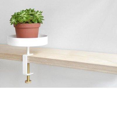 NAVET Clamp Tray Small Wit Ø15cm - duurzaam Zweeds design