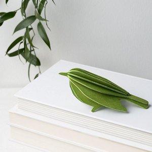 LOVI 3D kaart Bird groen 12cm