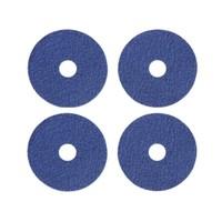Verso Design Onderzetters Jeans blauw Ø9,5cm