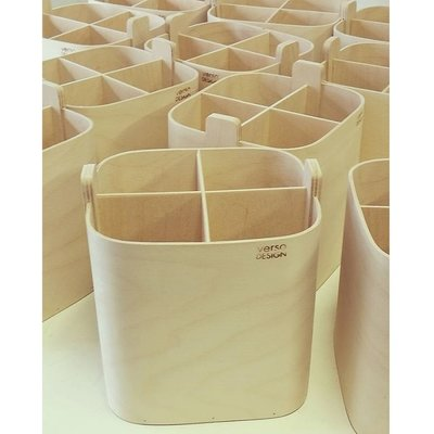 Verso Design Koppa Kitchen Box 9x19x20cm  - Fins berken plywood