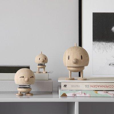 Hoptimist Woody Bumble Large Raw Oak - Deens design icoon
