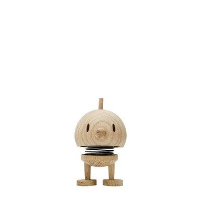Hoptimist Woody Bumble Small Raw Oak H7cm - Deens design icoon