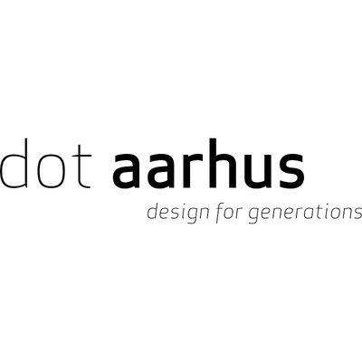 DOT Aarhus  Pen-Up Oak / Brass Ø8xH9,2cm - duurzaam Deens design