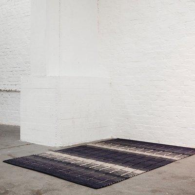 Finarte Vloerkleed Origami zwart 80x200 - 100% cotton