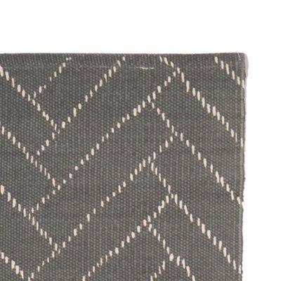 Finarte Aitta Vloerkleed cotton grijs 60x90cm