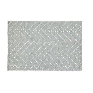 Finarte Aitta Vloerkleed cotton licht grijs