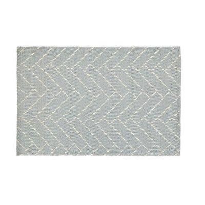 Finarte Aitta Vloermat  cotton licht grijs 60x90cm