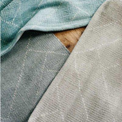 Finarte Aitta Vloerkleed cotton licht grijs 60x90cm