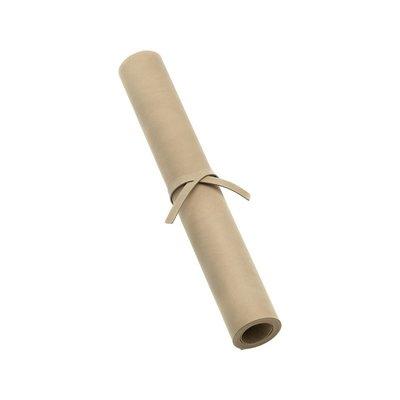 Lind DNA  Tafelloper leer Nupo Sand 38,5x140cm - Deens design