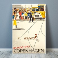 Architectmade Poster Wonderful Copenhagen 50x70cm