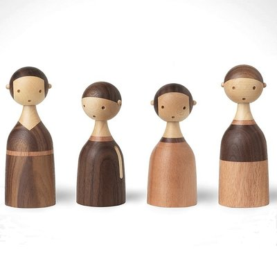 Architectmade Houten figuur KIN family - MOM - Deens design