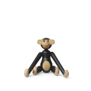 Kay Bojesen Monkey mini H10cm zwart