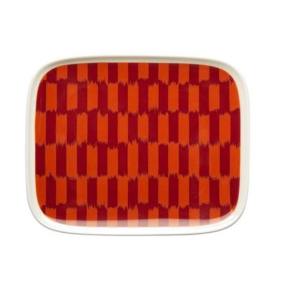 Marimekko Serveerbord Piekana rood 15x12cm - Fins design