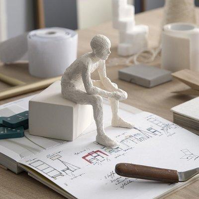 Kähler Design Sculptuur CharacterThe Reflective One H14cm- Deens design