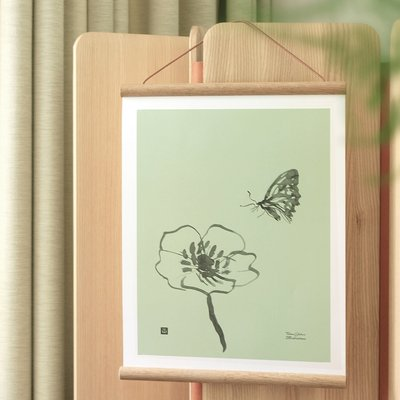 Teemu Järvi  Poster Butterfly 30x40cm - FSC paper