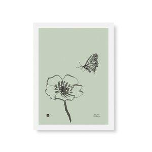 Teemu Järvi  Poster Butterfly 30x40cm