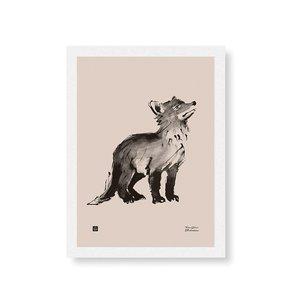 Teemu Järvi  Poster Fox Cub 30x40