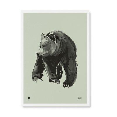 Teemu Järvi  Poster Gentle Bear 50x70cm mint FSC paper