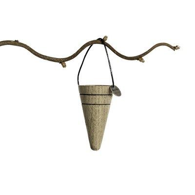 Architectmade Jul Cone hanger set van 3 stuks - eiken + leer