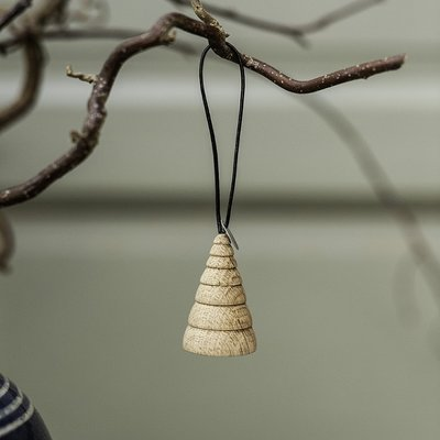 Architectmade Jul Tree hanger eiken set van 3 - Deens design