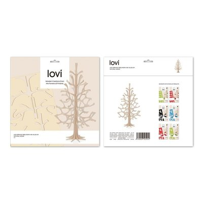 LOVI Boom Spruce naturel H25cm - Fins design