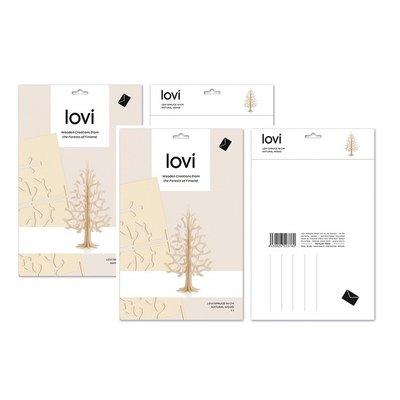 LOVI Spruce naturel - 2x boom H14cm- duurzaam