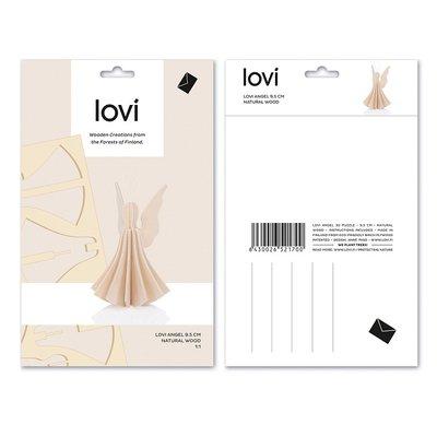LOVI X-mas Angels Naturel H9,5cm - duurzaam Fins design