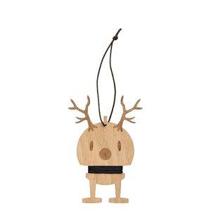 Hoptimist houten Reindeer hanger set H13,5cm