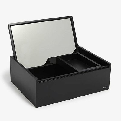 NOMESS Copenhagen Personal Mini black - Make-up /sieraden box